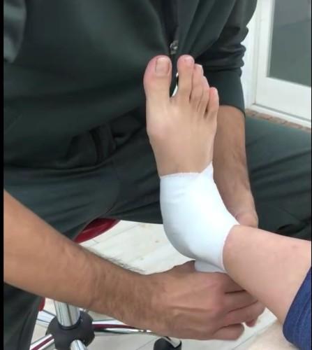 足関節包帯